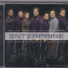 CDs de Música: ENTERPRISE - DENNIS MCCARTHY - BSO DE LA SERIE DE TV (STAR TREK). Lote 51363095