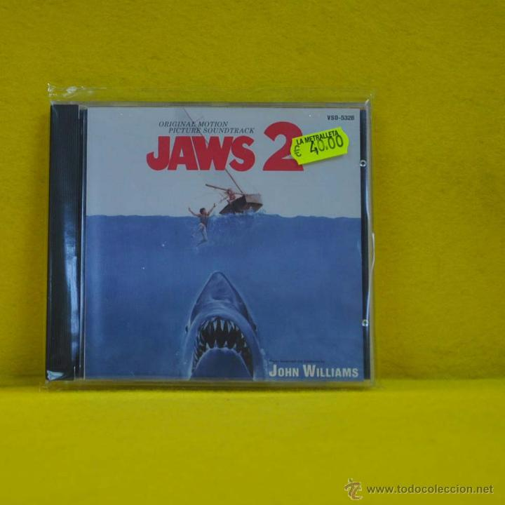 JOHN WILLIAMS - JAWS 2 - BSO - CD (Música - CD's Bandas Sonoras)