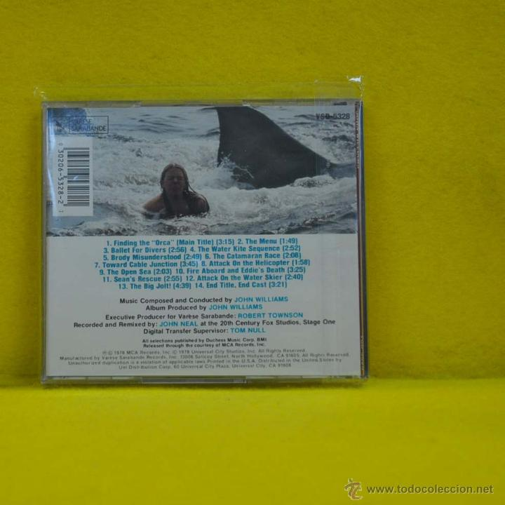 CDs de Música: JOHN WILLIAMS - JAWS 2 - BSO - CD - Foto 2 - 51366254