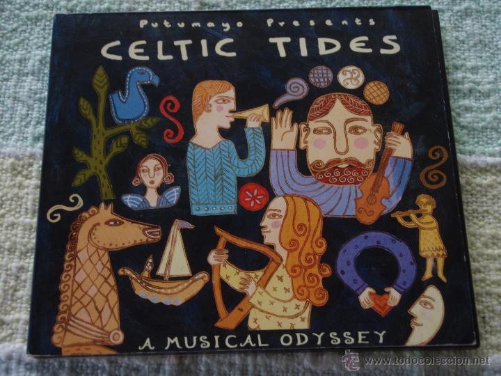 CELTIC TIDES, A MUSIC ODYSSEY (Música - CD's World Music)