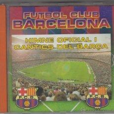 CDs de Música: FÚTBOL CLUB BARCELONA CD HIMNE OFICIAL I CÀNTICS DEL BARÇA 1998 DISKY. Lote 51372838