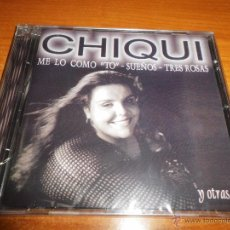CDs de Música: CHIQUI ME LO COMO TO CD ALBUM PRECINTADO 2004 CONTIENE 10 TEMAS. Lote 51409514