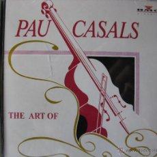 CDs de Música: THE ART OF PAU CASALS. CD BMG CLASSICS CD-116. 12 TRKS.1992.. Lote 51410565