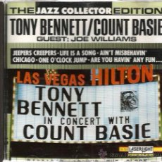 CDs de Música: CD TONY BENNETT IN CONCERT WITH COUNT BASIE. Lote 51411780