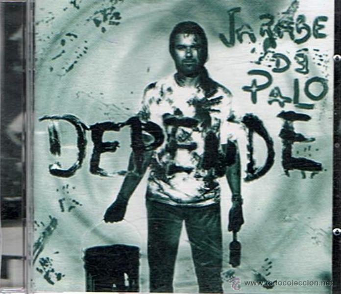 CD JARABE DE PALO DEPENDE (Música - CD's Pop)