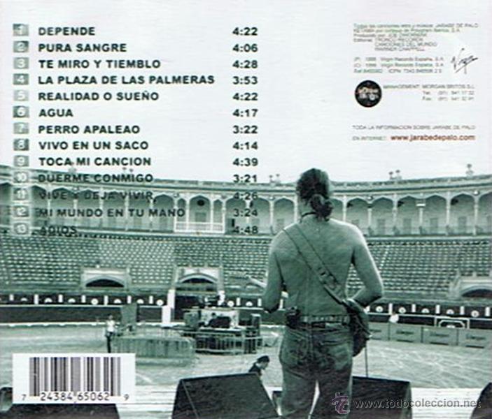 CDs de Música: CD JARABE DE PALO DEPENDE - Foto 2 - 51420635