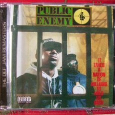 CDs de Música: PUBLIC ENEMY.IT TAKES A NATION OF MILLIONS TO HOLD US BACK...HIP-HOP. Lote 51424742
