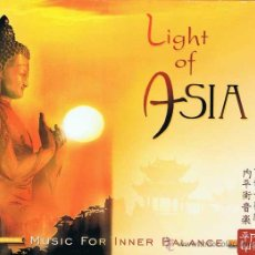 CDs de Música: CD LIGHT OF ASIA. MUSIC FOR INNER BALANCE. Lote 51428326