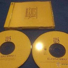 CDs de Música: CD LUIS MIGUEL. EL CONCIERTO. 2 CD´S. Lote 51436240