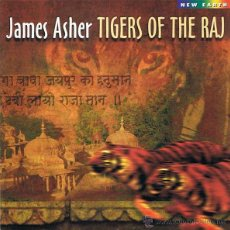 CDs de Música: CD JAMES ASHER - TIGERS OF THE RAJ. Lote 51448478