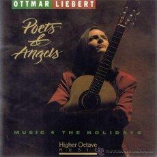 CDs de Música: CD OTTMAR LIEBERT - POETS & ANGELS. Lote 51454252