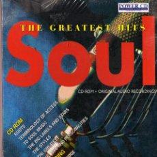 CDs de Música: CD. THE GREATIST HITS SOUL. RECOPILATORIO DE SOUL PRECINTADO. Lote 51468768