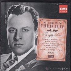 CDs de Música: BORIS CHRISTOFF: THE MIGHTY BORIS EMI: 6829372 - 11 CDS - PRECINTADA. Lote 51480237