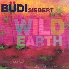 CDs de Música: CD BUDI SIEBERT - WILD EARTH. Lote 51480106