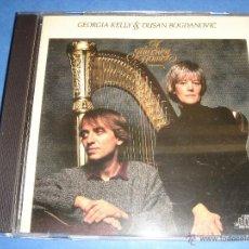 CDs de Música: GEORGIA KELLY - DUSAN BOGDANOVIC / A JOURNEY HOME / CD. Lote 51491421