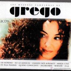CDs de Música: GREGO LAS MEJORES CANCIONES 2 CDS. Lote 51495940