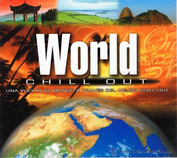 WORLD CHILL OUT - CD + DVD (Música - CD's New age)