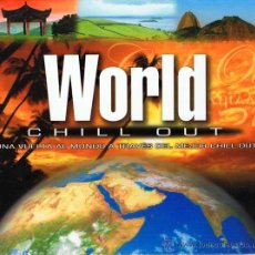 CDs de Música: WORLD CHILL OUT - CD + DVD. Lote 51500295
