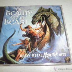 CDs de Música: THE BEAUTY AND THE BEAST HEAVY METAL MONSTER HITS 1993 PILZ MUY DIFICIL Y RARO VARIOS ARTISTAS. Lote 51503577