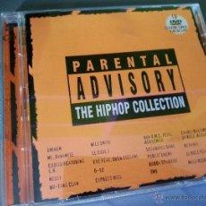 CDs de Música: THE HIP HOP COLLECTION CD + DVD EMINEM D12 COOLIO WILL SMITH PUBLIC ENEMY MALA RODRIGUEZ AEROSMITH. Lote 44644403