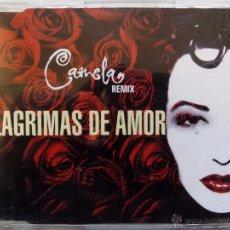 CDs de Música: CAMELA. LÁGRIMAS DE AMOR. REMIX. CD MAXI MAX MUSIC NM1413CDMX. ESPAÑA 1996. TECNO RUMBA.. Lote 51511100