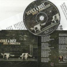 CDs de Música - bruce springsteen cd single promocional devils & dust.2005.con hoja promo a doble cara - 52143468