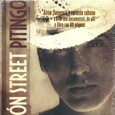 CDs de Música: PITINGO * MALECON STREET * DELUXE EDITION CD+DVD+LIBRO TAPAS DURAS 80PÁGINAS * PRECINTADO!!. Lote 107433442