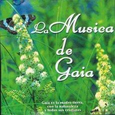 CDs de Música: CD LA MÚSICA DE GAIA - CD PROMOCIONAL DE LA REVISTA AÑO CERO. 12 TEMAS. Lote 51528811