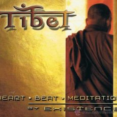 CDs de Música: CD EXISTENCE - TIBET - HEART BEAT MEDITATION. Lote 51529877