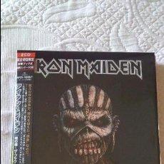 CDs de Música: IRON MAIDEN BOOK OF SOULS 2 CD JAPAN EDITION BOOK. Lote 51560004