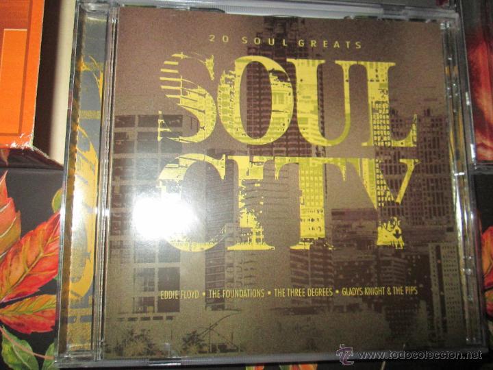 CDs de Música: LOTE 3 CDS-SOUL TOWN-60 TEMAS-TIME MUSIC-1998-NUEVO-VER FOTOS. - Foto 9 - 51561357
