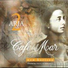 CDs de Música: CAFE DEL MAR-ARIA 2 NEW HORIZON CD ALBUM 1999 SPAIN. Lote 57036140