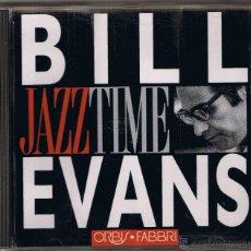 CDs de Música: JAZZ TIME - BILL EVANS. Lote 51584699