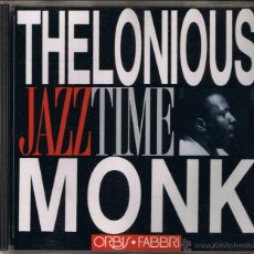 CDs de Música: JAZZ TIME - THELONIOUS MONK. Lote 51584722
