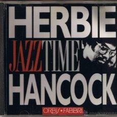 CDs de Música: JAZZ TIME - HERBIE HANCOCK. Lote 51584832