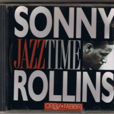 CDs de Música: JAZZ TIME - SONNY ROLLINS. Lote 51584931