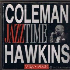 Music CDs - JAZZ TIME - COLEMAN HAWKINS - 51584977