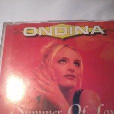 CDs de Música: CD ONDINA. SUMMER OF LOVE. LE FALTA CARATULA TRASERA. MB2CD. Lote 51608026