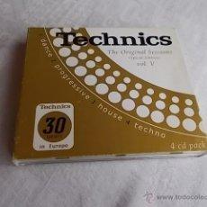 CDs de Música: TECHNICS THE ORIGINAL SESSIONS VOL.V. Lote 51638882