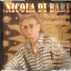 CDs de Música: DOBLE CD NICOLA DI BARI : MIS 20 CANCIONES MAS QUERIDAS ( CANTADAS EN ESPAÑOL ) . Lote 51672714