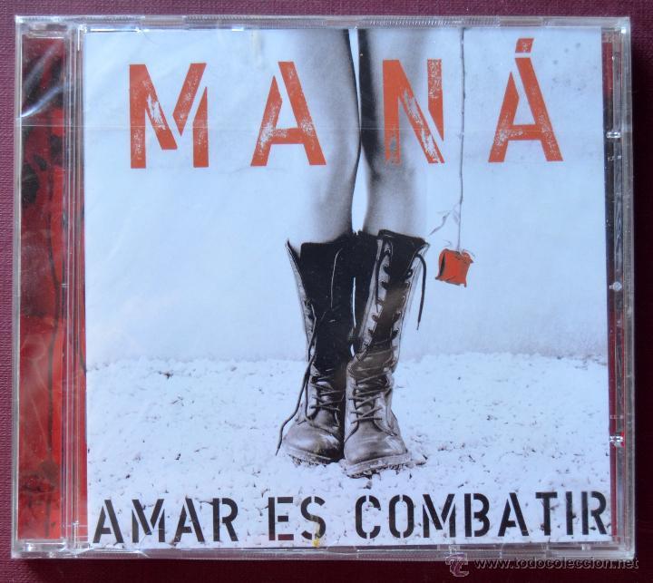 MANÁ - AMAR ES COMBATIR - CD NUEVO PRECINTADO (Música - CD's Latina)