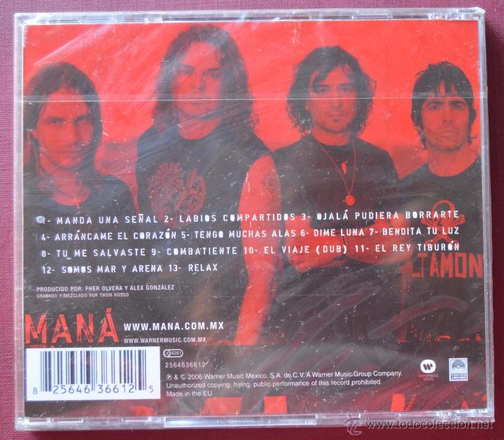 CDs de Música: MANÁ - AMAR ES COMBATIR - CD NUEVO PRECINTADO - Foto 2 - 51690970