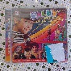 CDs de Música: CD BANDA SONORA ORIGINAL RALUY UNA NOCHE EN EL CIRCO ORIGINAL SOUNDTRACK CINE ESPAÑOL BSO. Lote 51691592