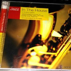 CDs de Música: JAZZ IN THE HOUSE 2 CD. Lote 51693520
