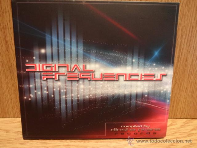 DIGITAL FREQUENCIES. CD / DINSHA PRANA RECORDS - 2009 - 9 TEMAS / CALIDAD LUJO. (Música - CD's Techno)