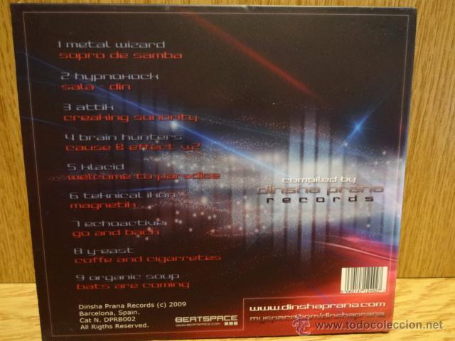 CDs de Música: DIGITAL FREQUENCIES. CD / DINSHA PRANA RECORDS - 2009 - 9 TEMAS / CALIDAD LUJO. - Foto 2 - 51693746