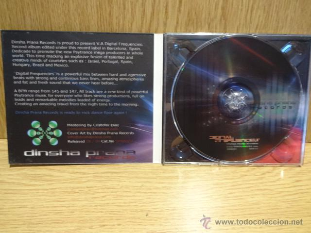 CDs de Música: DIGITAL FREQUENCIES. CD / DINSHA PRANA RECORDS - 2009 - 9 TEMAS / CALIDAD LUJO. - Foto 3 - 51693746