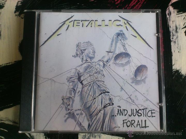 METALLICA - ...AND JUSTICE FOR ALL - CD ALBUM - VERTIGO - 1988 (Música - CD's Heavy Metal)