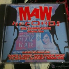 CDs de Música: MAW RECORDS - THE COMPILATION VOLUME ONE - MAW RECORDS - 1997. Lote 51699243