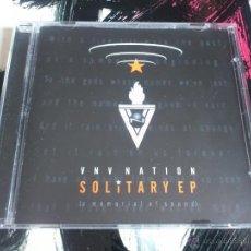 CDs de Música: VNV NATION - SOLITARY EP - A MEMORIAL OF SOUND - CD ALBUM - ENERGY RECORDS. Lote 51699287